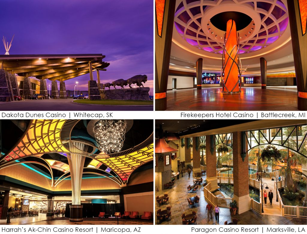 Hotel Casino Resort Projects that David Nejelski helped design