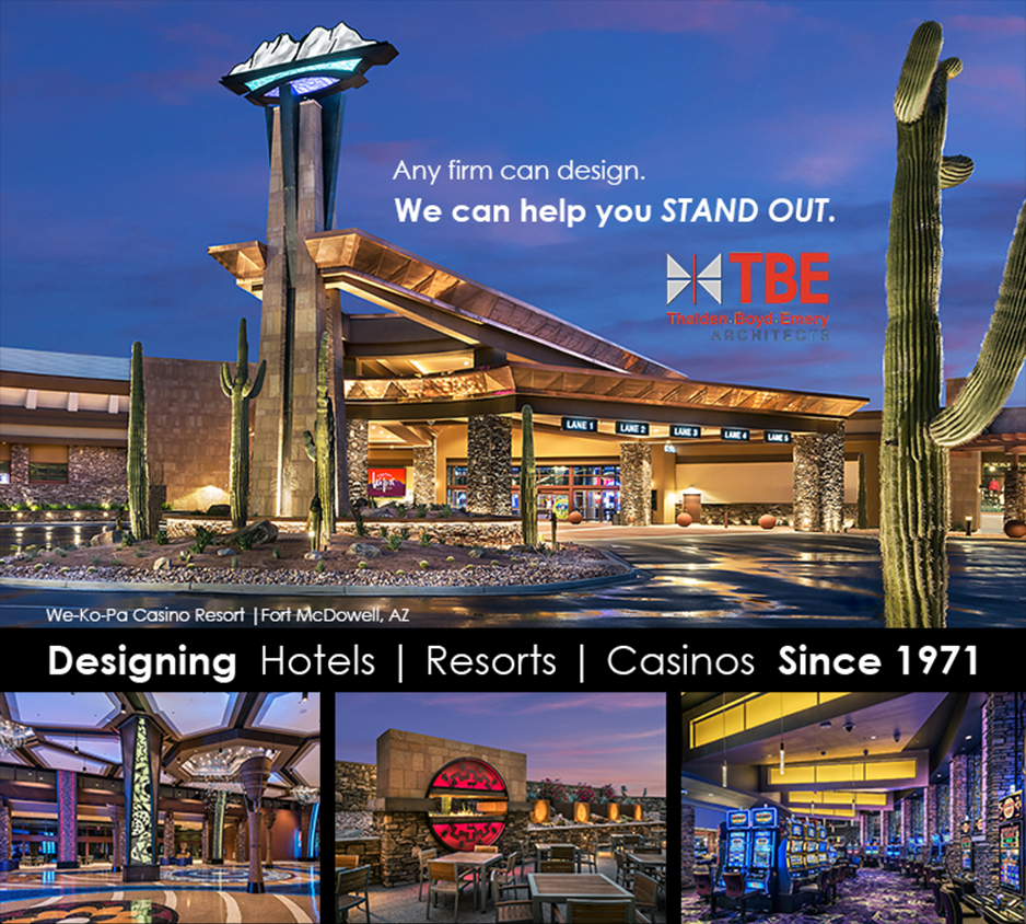 Compilation of images from the new We-Ko-Pa Casino Resort | Design by TBE Architects